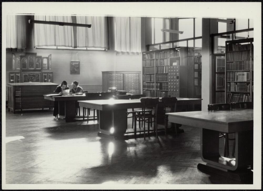 Voormalige kunstbibliotheek, ca. 2000-2013