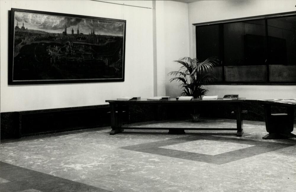 Voormalige tentoonstellingsruimte