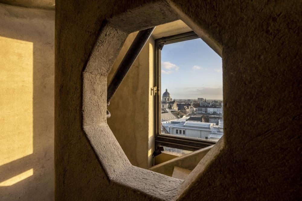 Binnenzicht vanuit de toren
