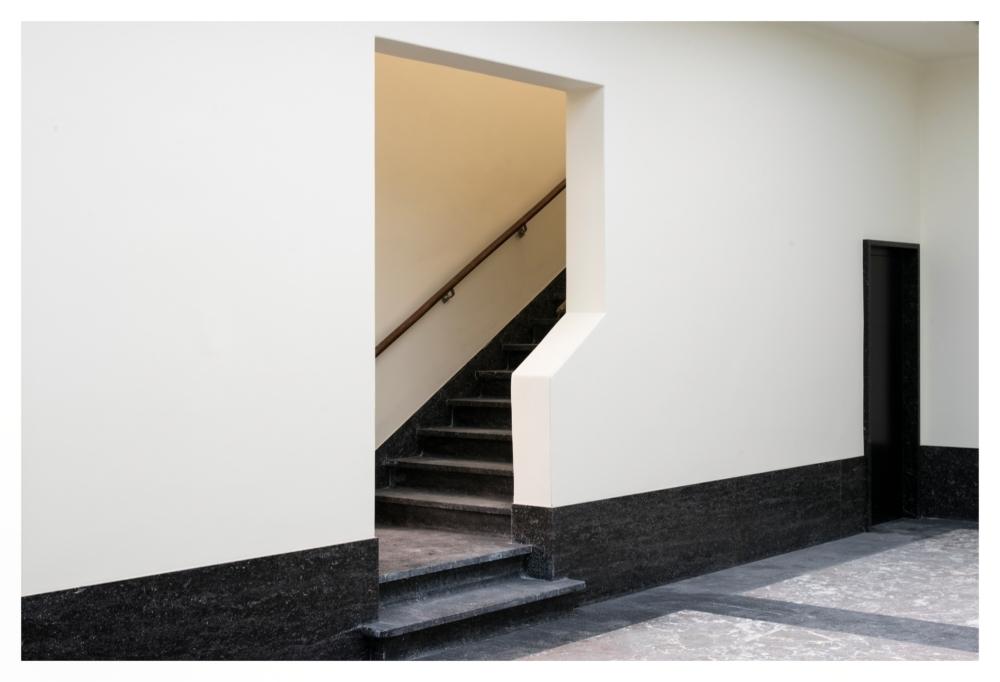 Ingang eerste verdieping